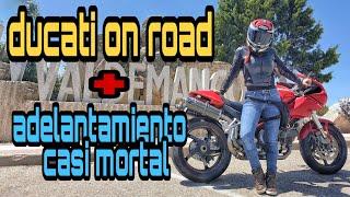 * Ducati + ruta frustrada por la GUARDIA CIVIL adelantamientos peligrosos y tropiezos *