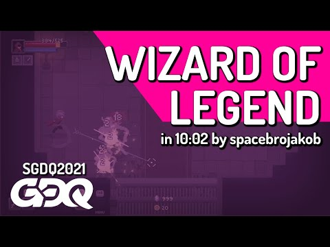 Wizard of Legend by spacebrojakob in 10:02 - Summer Games Done Quick 2021 Online |