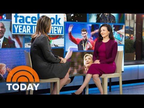Facebook Exec Sheryl Sandberg: We Don't Think Fake News Swayed Election | TODAY