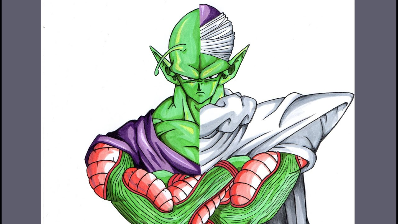 Drawing Piccolo From Dragonball Z