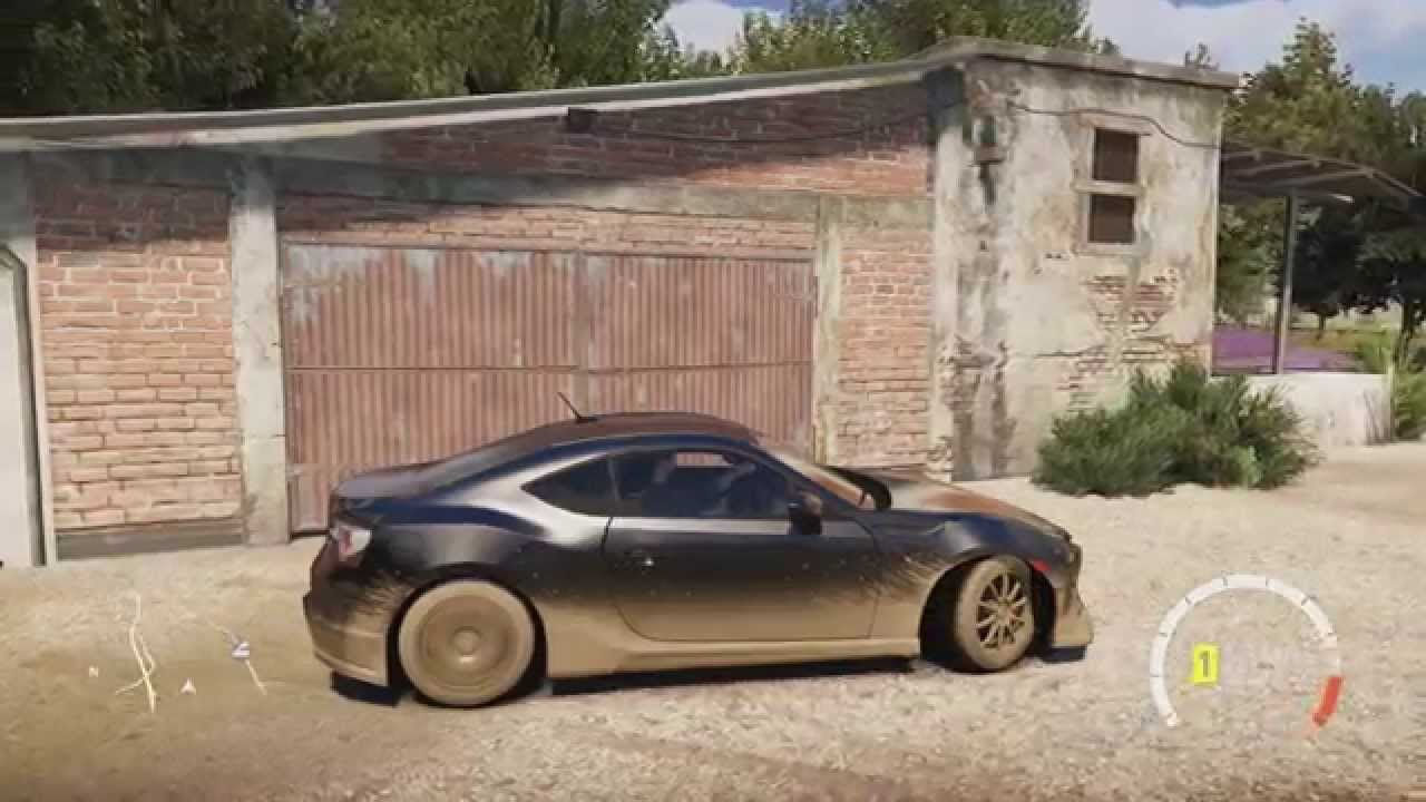 Forza Horizon 2 Barn Finds Sisteron