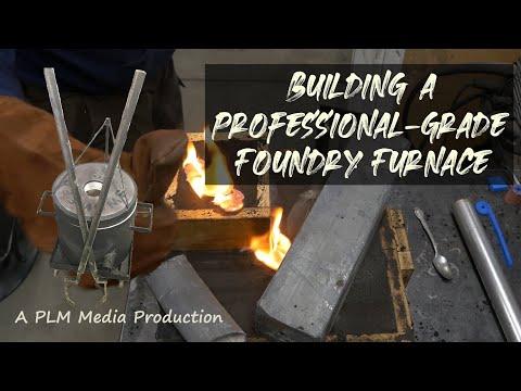 Building a professional-grade foundry furnace