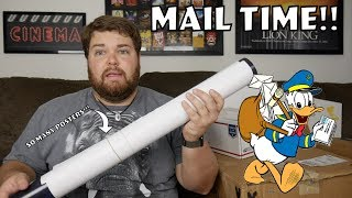 so...Many...POSTERS!! - Mail Vlogs