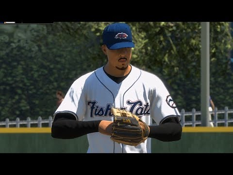 MLB The Show 18 - New Hampshire Fisher Cats vs Toronto Blue Jays - Gameplay (PS4 HD) [1080p60FPS]