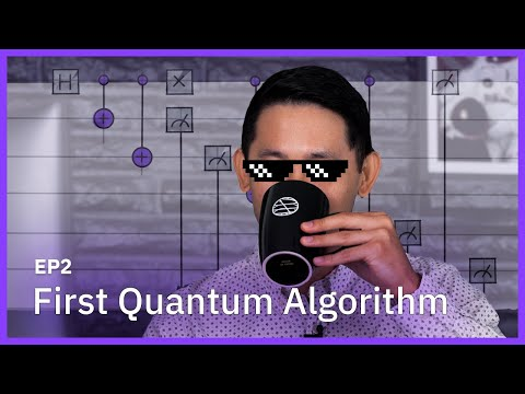 Writing My First Quantum Algorithm — Programming on Quantum Computers — Coding with Qiskit S2E2