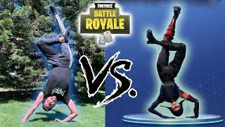Fortnite Dances in Real Life Freestyle | patroX