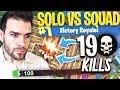 Le Meilleur Top1?🥇19 KILLS en SOLO vs SQUAD avec 5 HP ► Fortnite Top 1 Battle Royale