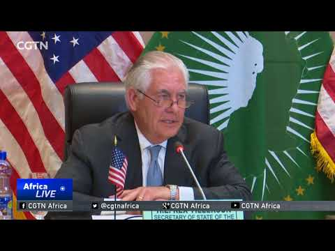 Tillerson says Trump hopes to smooth over ties with Africa