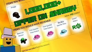 ROBLOX Trading to Dream Hats: 1,000,000+ OFFER ON SHAGGY LOL!!!!!!!!!!!!!! #4