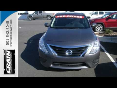 Used 2016 Nissan Versa Conway AR Little Rock, AR #AP4834   SOLD