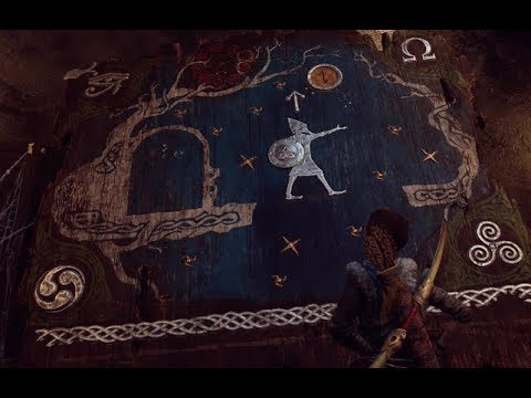 Kratos Finds Egyptian And Other Gods Symbols Youtube