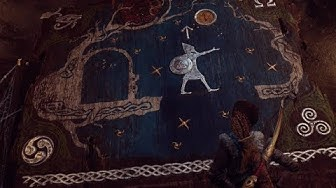 Kratos finds Egyptian and other gods symbols