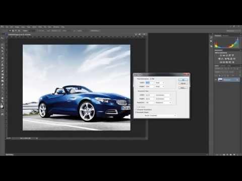 Как изменить размер изображения в Adobe Photoshop