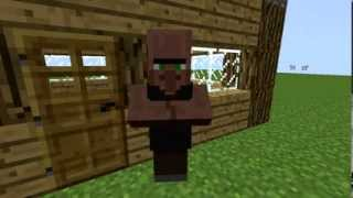 Villager Club - Kauges Külas - Offical MineCraft Video ! (ERI)