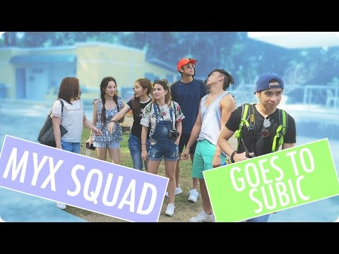 The MYX Squad goes to Subic! | MYX ADVENTURES