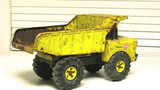 Tonka 1976 Mighty Dump Truck Restore