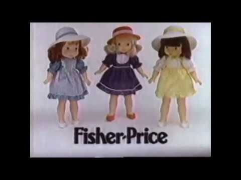 My Friend Dolls By Fisher Price (1980's Christmas Commercial)