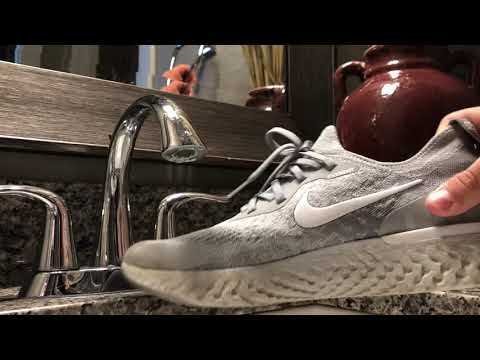 How to clean Nike epic react flyknits