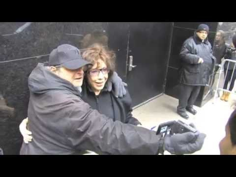 Lily Tomlin Leaves TV Studios In NYC