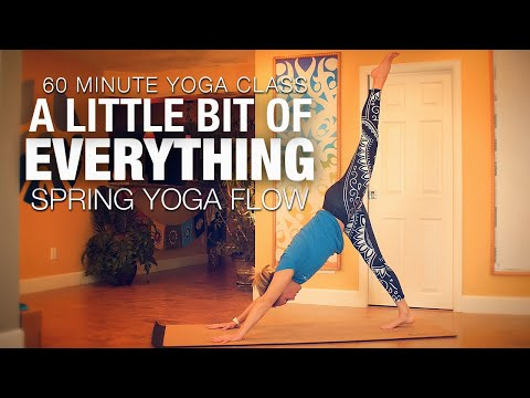 A Little Bit of Everything Spring Flow Yoga Class Five Parks Yoga