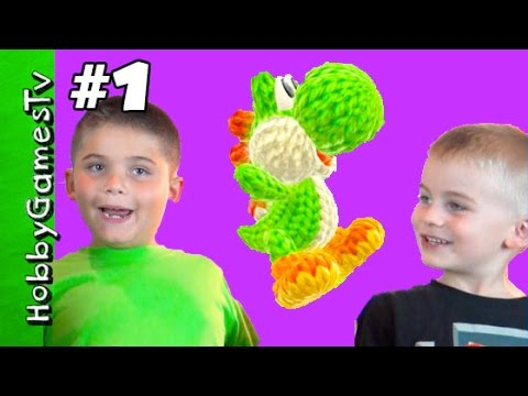 Yoshi's Woolly World Review 1 Amiibo Yarn HobbyGamesTV