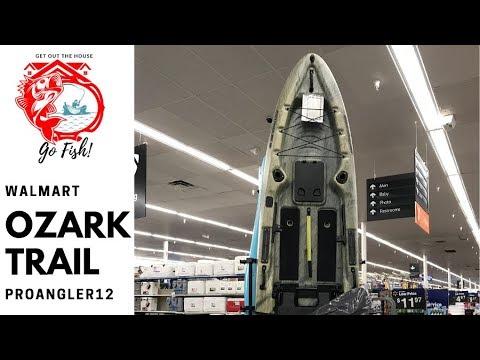 Walmart's OzarkTrail ProAngler12 Kayak