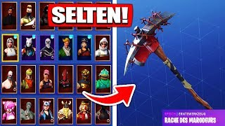 Fortnite SEASON 1 rarest pickaxe account get from ZUSCHAUER! - Fortnite Battle Royale