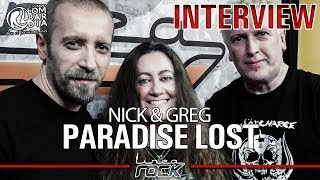 """PARADISE LOST - """"Medusa"""" interview with Nick & Greg  @Linea Rock 2017 by Barbara Caserta"""