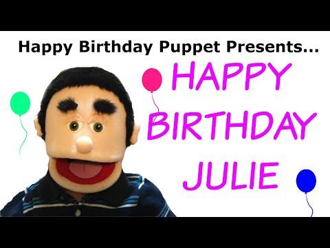 Happy Birthday Julie - Funny Birthday Song