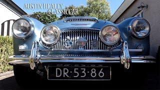 First time driving an AUSTIN HEALEY 3000 MK III 1964 Blue