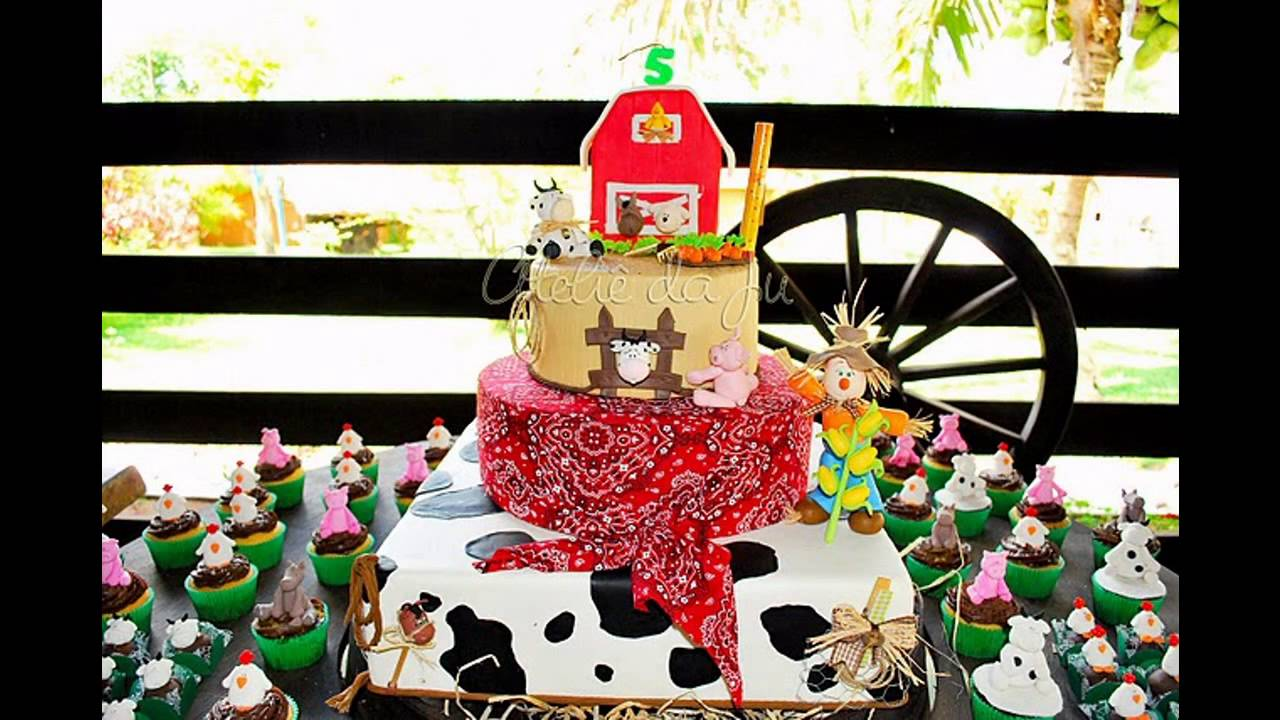 Great Farm Birthday Party Decorations Ideas