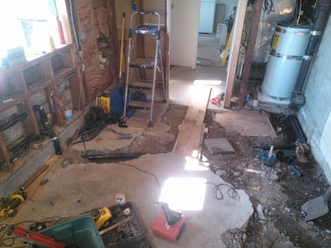 plumbing-a-new-basement---kitchen---laundry---and---bathroom---bust-out-that-concrete-floor!