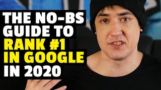 SEO for Beginners: How to Rank #1 in Google (2020)