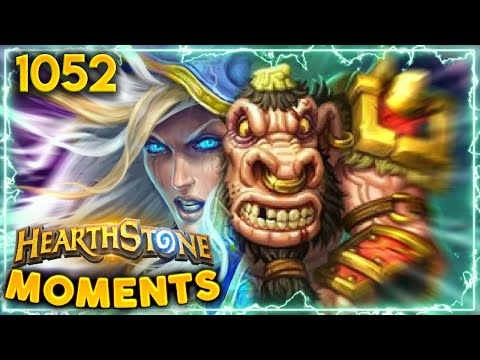 IS THIS BRILLIANT OR DUMB?   Hearthstone Daily Moments Ep.1052