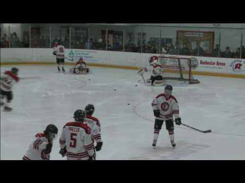 Coruway Live Ice Hockey Rochester NH Spaulding High School versus St. Thomas Aquinas High School