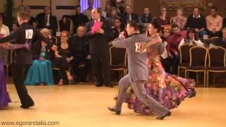 Egor Alla Professional American Smooth Tango www egorandalla com