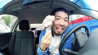 【動画の説明】やっと行ってきました!アイスクリーム大!でかかった.