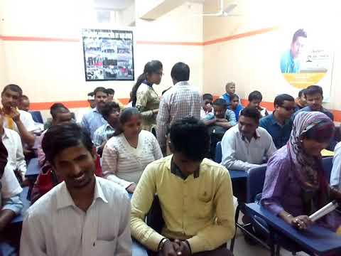 Computer training of blind students in Navjyoti Global Solutions Pvt Ltd.  Gurgaon