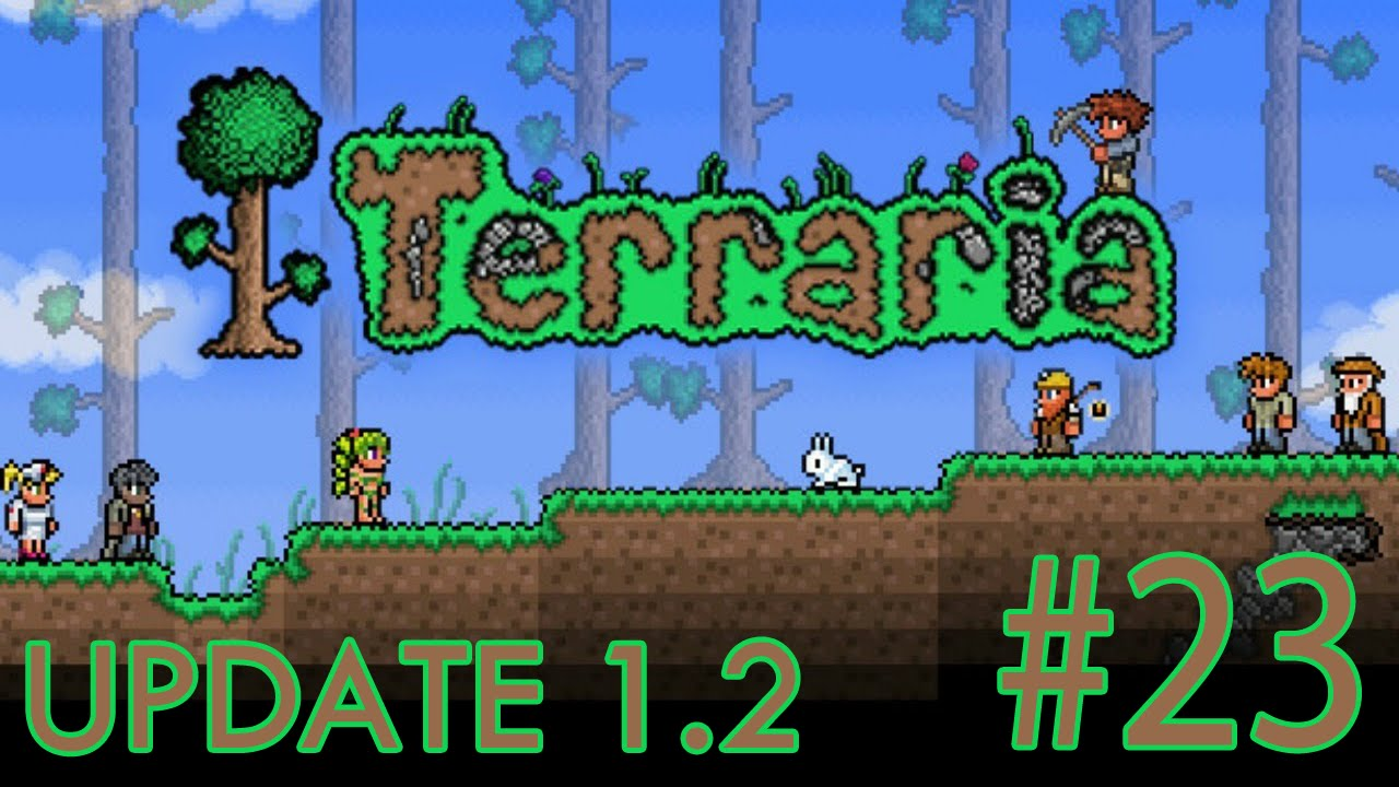 Terraria: iOS ANDROID UPDATE 1 2 - Join Local Server Glitch | Gameplay #23