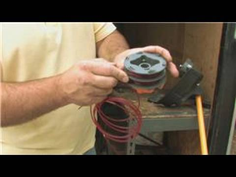 weed eater 1210 how to change line