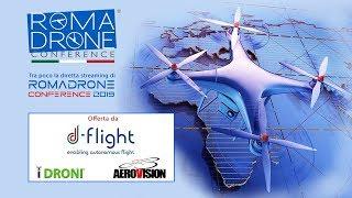 PRIMA PARTE - Roma Drone Conference 2019 (Drone Channel TV)