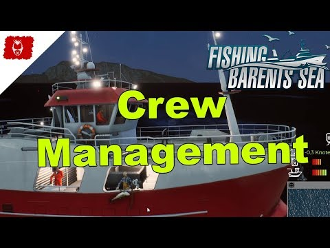 Fishing: Barents Sea - Crew Management - gameplay deutsch