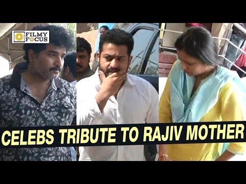 Celebrities Pay Tribute to Rajiv Kanakala...