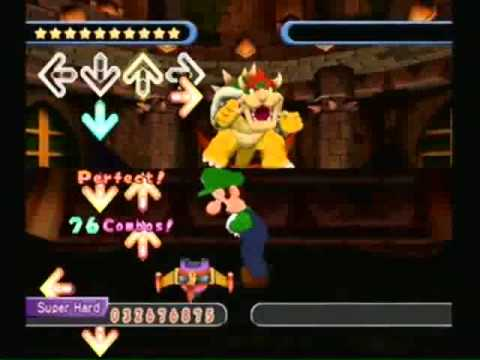 Dance Dance Revolution Mario Mix - Bowser Castle - Super Hard