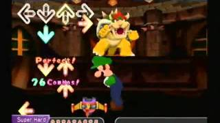 Dance Dance Revolution Mario Mix - Bowser Castle - Super Hard
