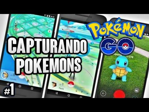 Pokemon Go Capturando Pokemon en Chile iquique ya Tengo a Pikachu