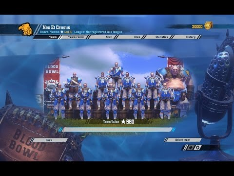 Blood Bowl 2: A look at all the current teams.