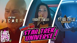 Star Trek Picard & Discovery NYCC Re-Cap | Trailer Reaction | News & More!