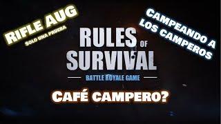 Rules of Survival || Café en Traffic Hub || RayoYar23 || AUG la prueba || ROS ||