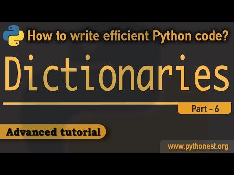 Dictionaries In Python Advanced Tutorial   Python Tutorials